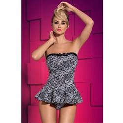 Obsessive corset argenta XXL