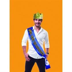 Banda el rey de los novios + corona