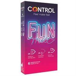 Preservativos control fusion 12uds