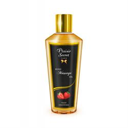 Aceite de masaje fresa plaisir secret 250 ml