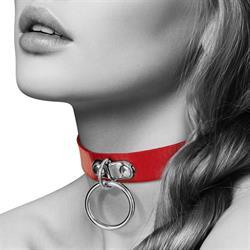Collar corazon bdsm Bijoux pour toi rojo