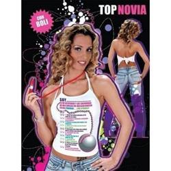 Camiseta top pruebas con boligrafo ella