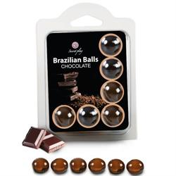 Brazilian balls chocolate 6 unds