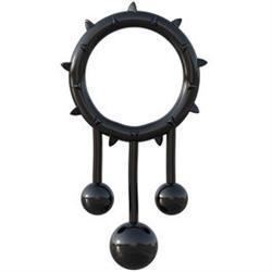 Fantasy c-ringz anillo con bolas metal oscilantes