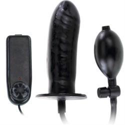 Plug anal hinchable con vibración bigger joy 16 cm