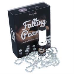 Falling pearls lubricante y collar para masaje