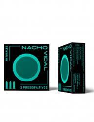 Preservativos naturales 3 unidades Nacho Vidal