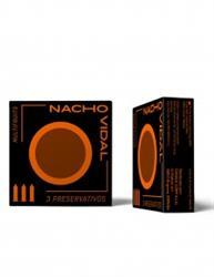 Preservativos multifrutas 3 unidades Nacho Vidal