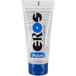 Lubricante eros aqua  base agua natural 200 ml