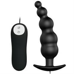 Plug anal silicona estimulacion extra 12 modos vibracion.