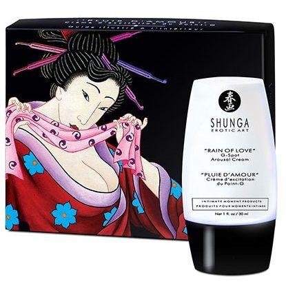 Crema estimulante del punto g shunga lluvia de amor