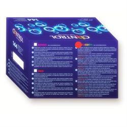 Preservativos control adapta fussion 144uds