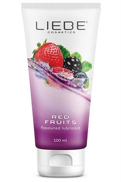 Lubricante Red Fruits liebe 100 ml.