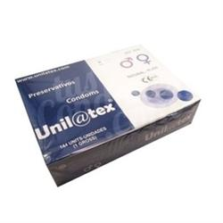 Preservativos unilatex natural caja 144 unds