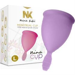 Copa menstrual nina cup talla L lila