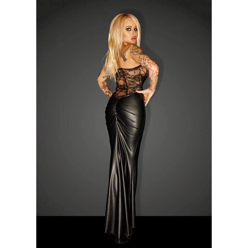 Vestido F140 goddess powerwetlook talla M