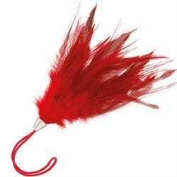 Pluma estimuladora roja darkness 17cm